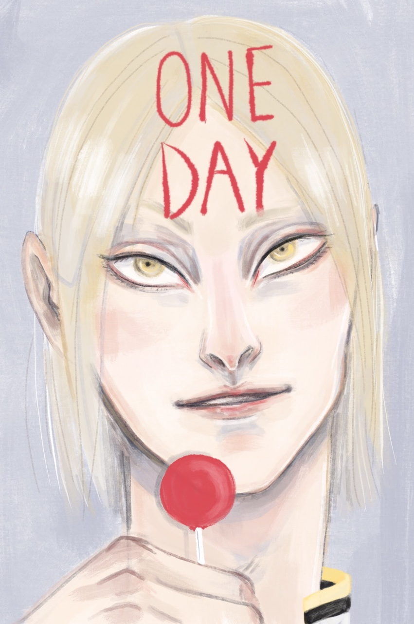 A quick sketch from last night to cap off a horrid week & because I'm VERY antsy for updates. Jian Yi is so cute I just had to give him a lollipop.
