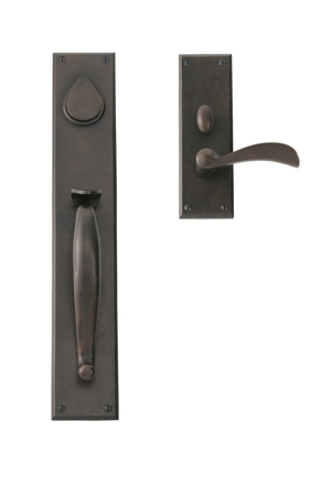 EN-1802-H1- ENTRY GRIP MORTISE SET WITH WASHINGTON LEVER