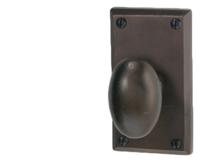 PA-01-H10-PASSAGE SET WITH WILSON OVAL KNOB