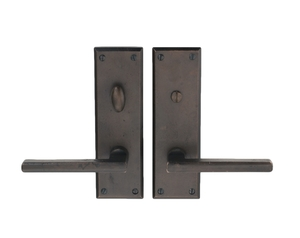 PR-03AB-H14-DEADBOLT PRIVACY SET WITH THE KENNEDY LEVER