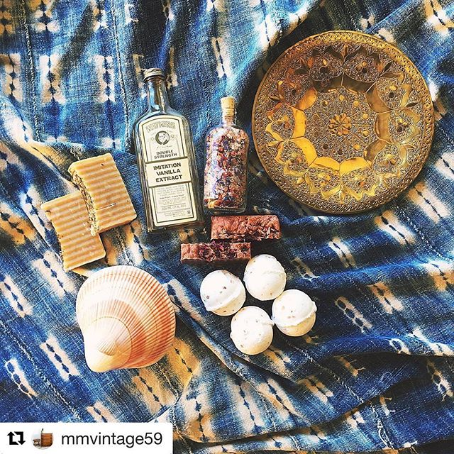 LOVE this shot from @mmvintage ! Milk & Bubbles now sold at the MMVintage store! 3001 Quebec Street, #104 in Dallas! #sunday#treatyoself#shop