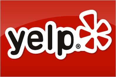 Click here to go to our Yelp page...