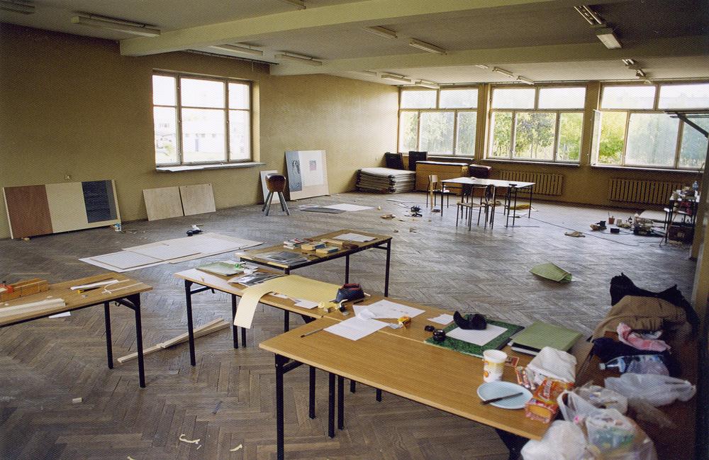 temporary studio