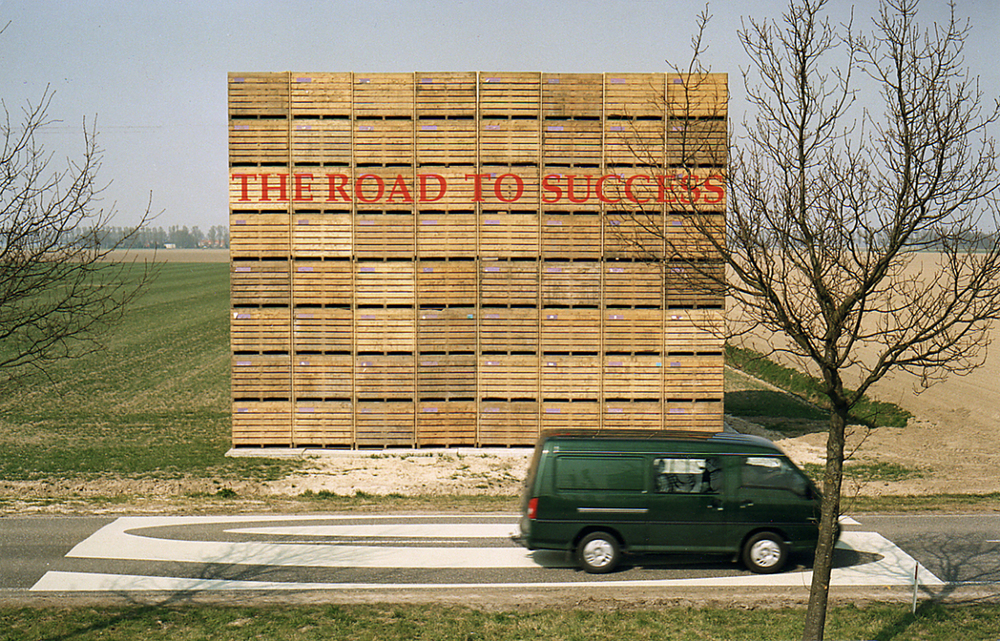Grond   , Museum Nagele and public space, Nagele NL,  2003