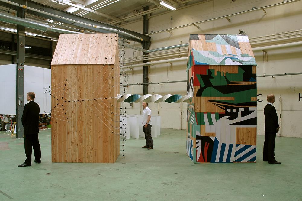 Urban Dazzle - Touch   ,    Klokgebouw Strijp-S, Eindhoven NL, 2007