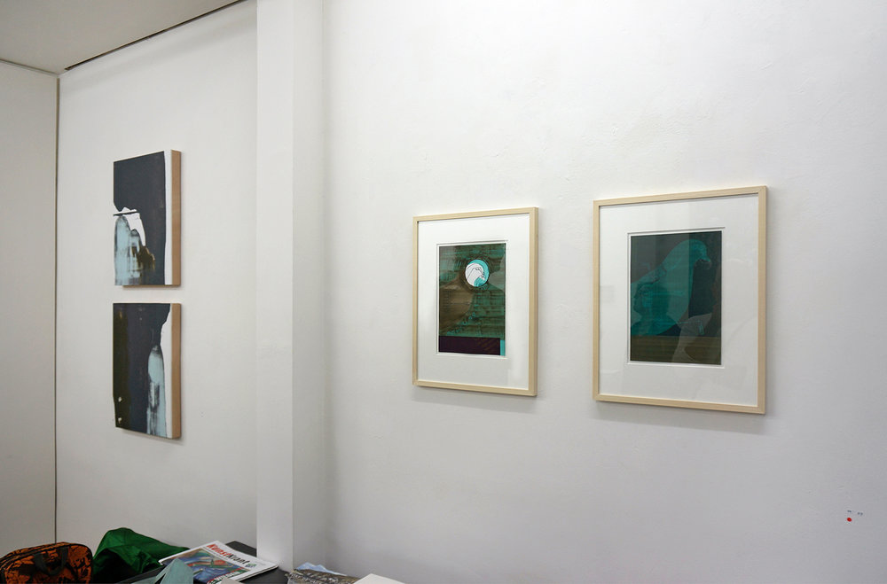 Installation view in Luycks Gallery