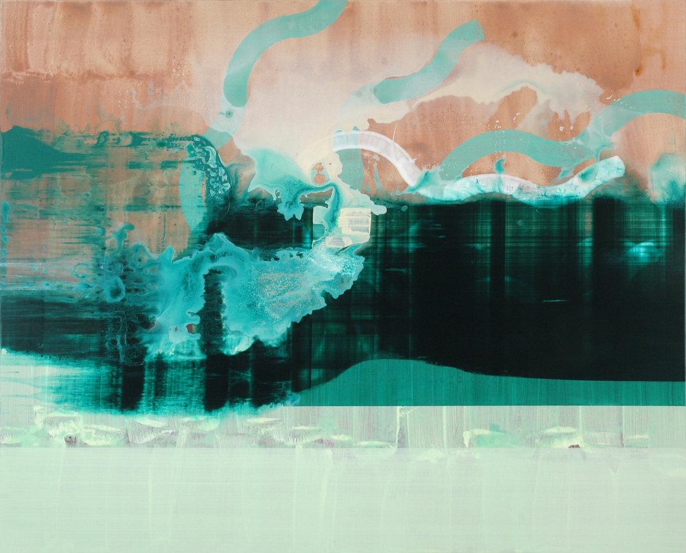 Medusa , 2014, 97 x 120 cm, acrylic on mdf