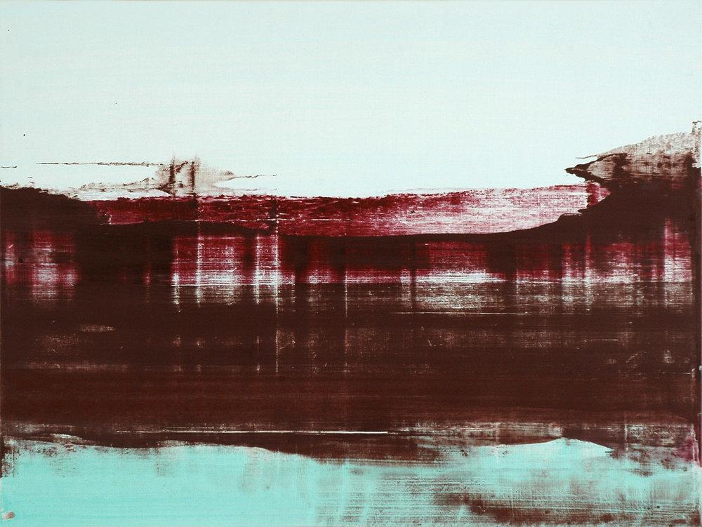 Hope Road #12 , 2011, 45 x 60 cm, acrylic on mdf