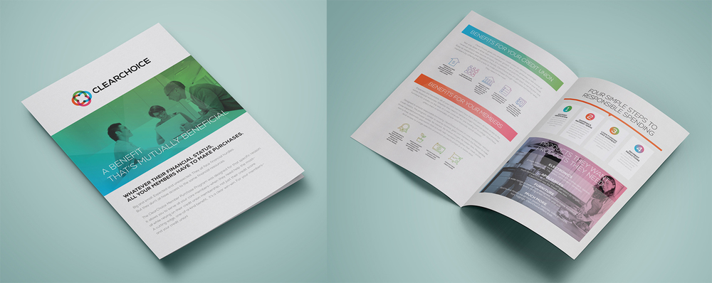 'Clear Choice' Bi-Fold Brochure