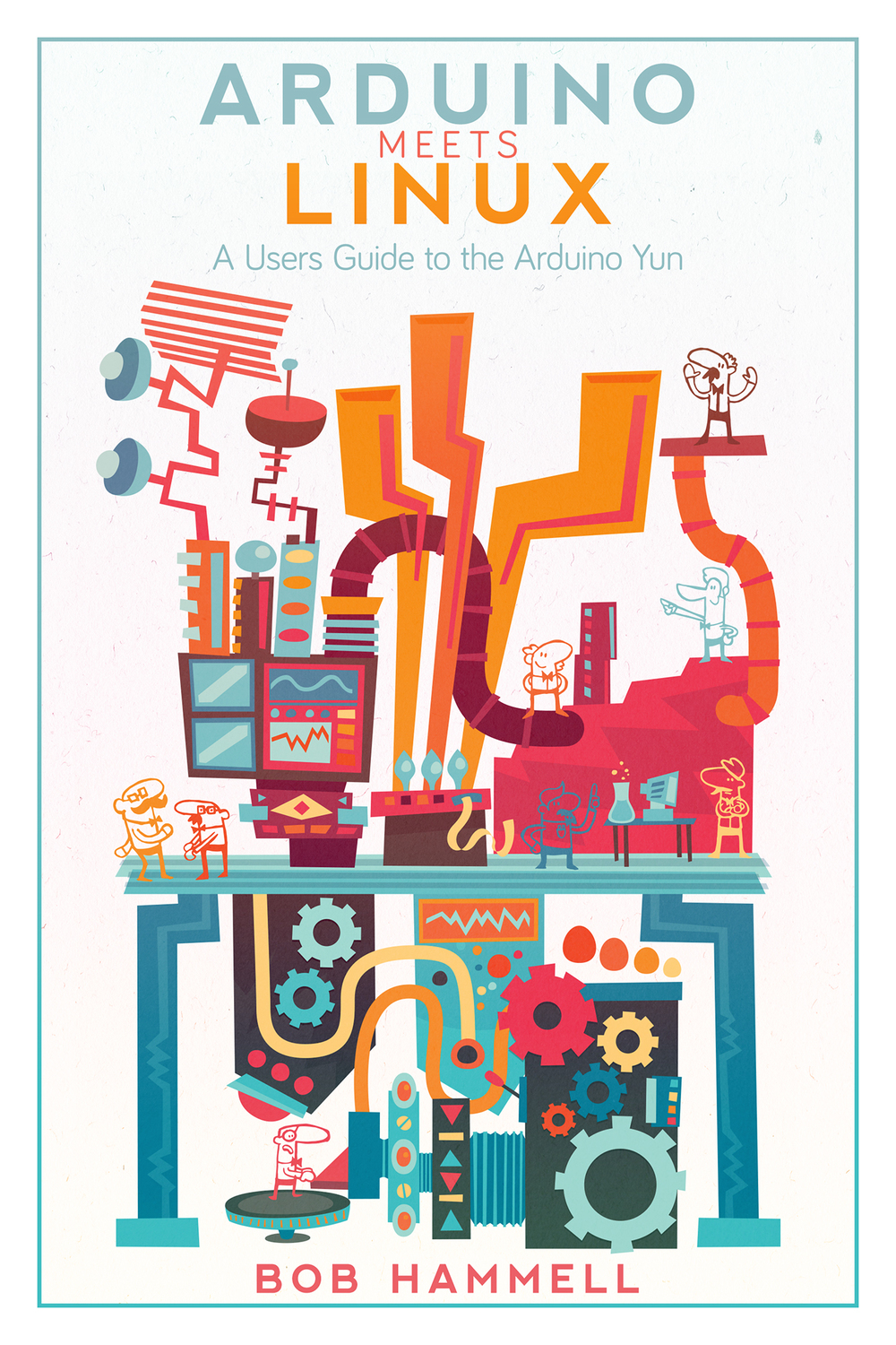 Book Cover for 'Arduino Meets Linux'