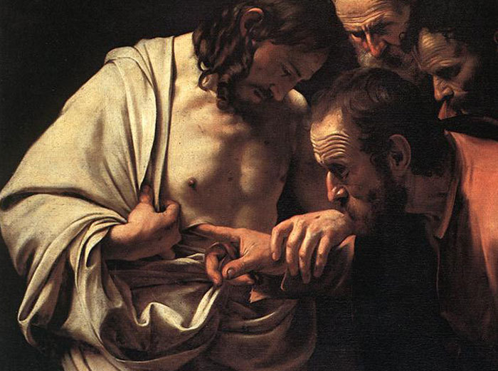 The Disciples Inspecting the Ressurected Jesus