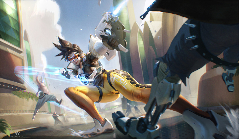 The game is almost as fast as Tracer, one of Overwatch's 21 iconic characters.