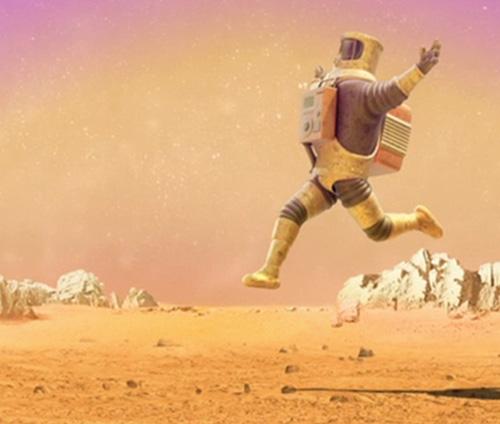 Year:2008 Astronauts dancing great songs.