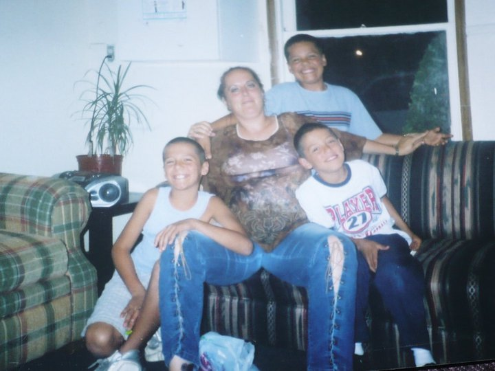 Manuel, Mom, Jesus & I many years ago