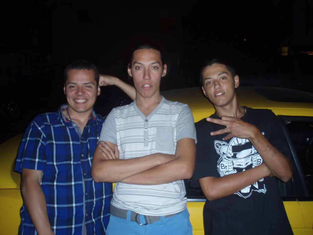 With Miguel, Cesar & Jesus after dropping food off for Jesus