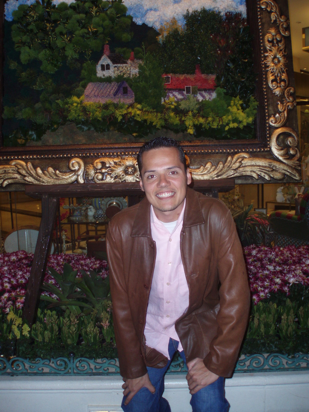 Miguel at the Bellagio hotel, Las Vegas