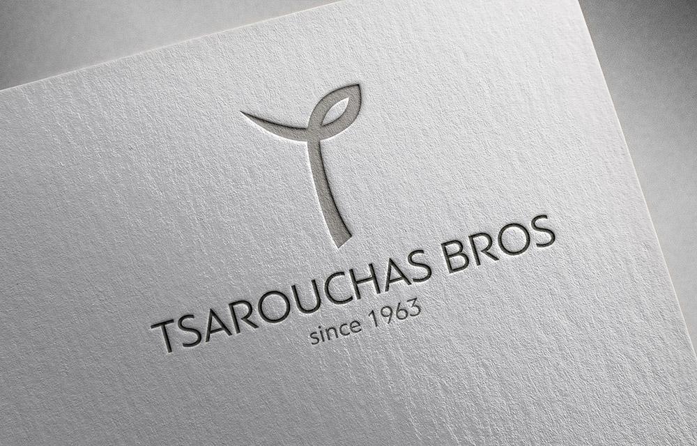 Σχεδιασμός λογοτύπου Tsarouchas Bros