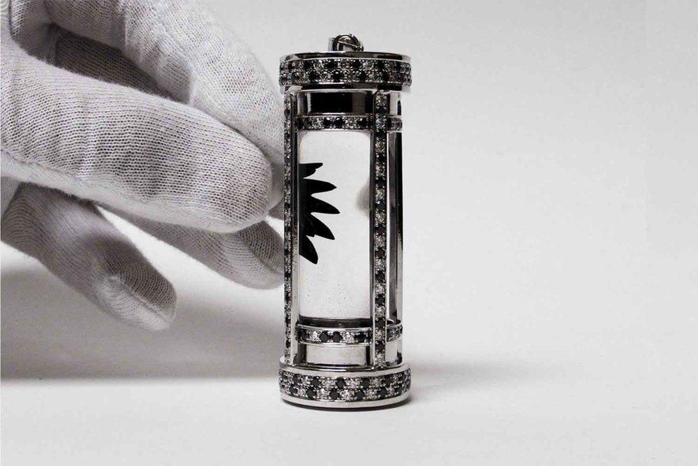 Ferrofluid Jewelry Design Ferrofluid Displays Art and