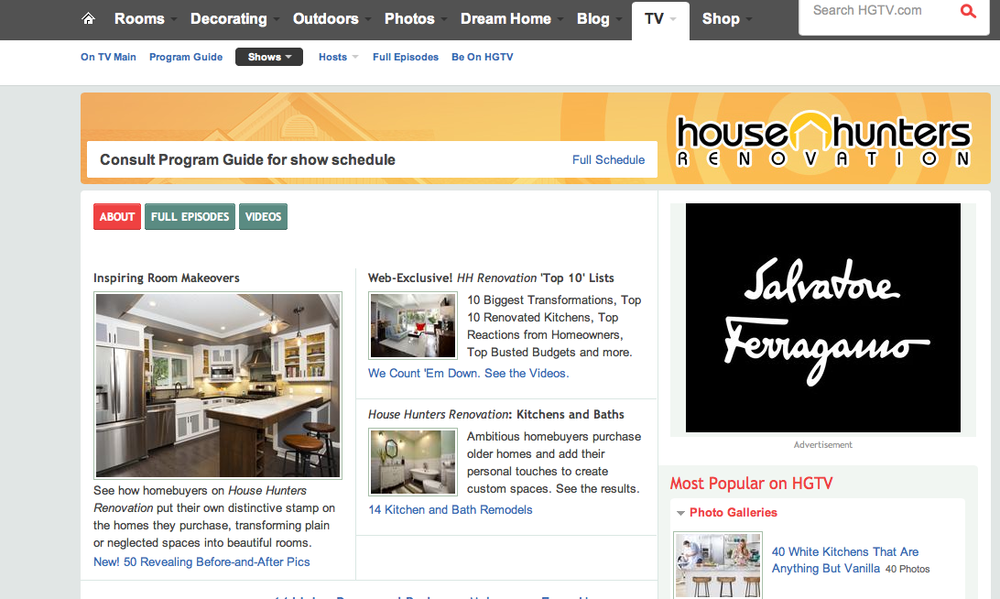 JDR Design was featured on the HGTV's website for their   25 Amazing Room Makeovers From HGTVs House Hunters Renovation  .