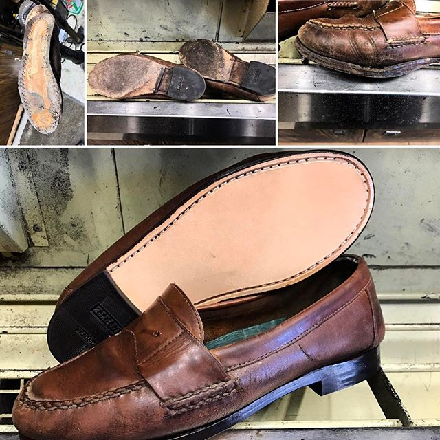 Full shoe rebuild on a pair of Bass shoes. If your pair is looking hopeless to you, bring them in and let us show you how we can save them and make them look like new. #bassshoes #moderncobblery #cobbler #sdcountyshoerepair #northcountyshoerepair #shoerepair #shoplocal #shopsmall #sanmarcosca