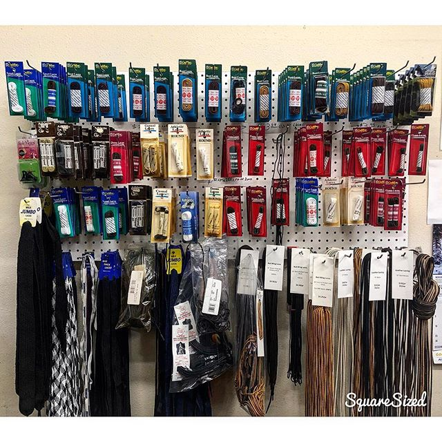 We sell the essentials too! Look at our selection of SHOE LACES! We are sure you will find the ones your shoes need, if not we can always order it for you! 👞👟🥾 . . . . . #moderncobblery #shoelaces #shoelacestyle #cobbler #shoesaddict #sanmarcos #northcountysd #sandiegocounty #smallbusiness #shoes #shoelacesstore
