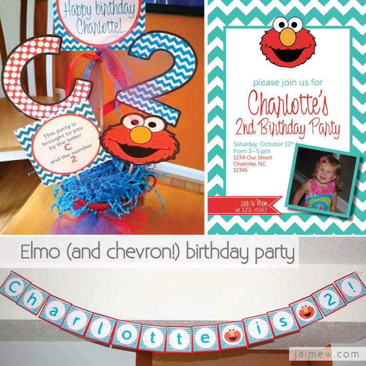 charlotte's elmo invitation and birthday party collage for web examples.jpg