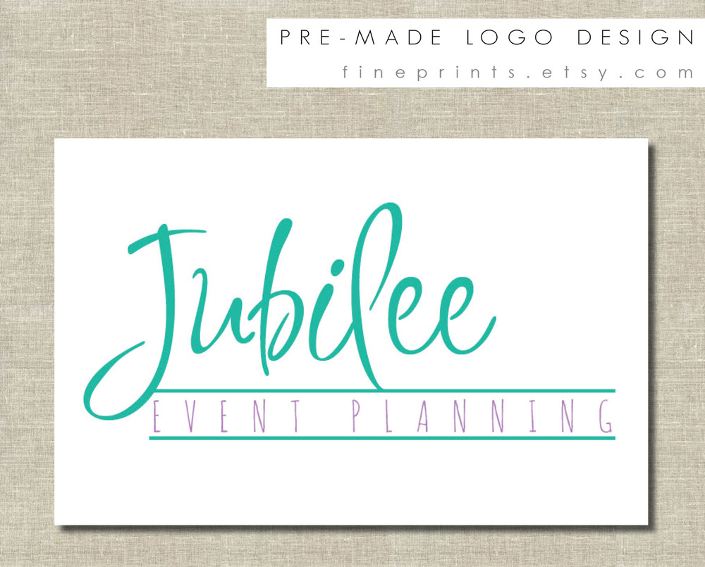 Jubilee premade logo design sample for etsy.jpg