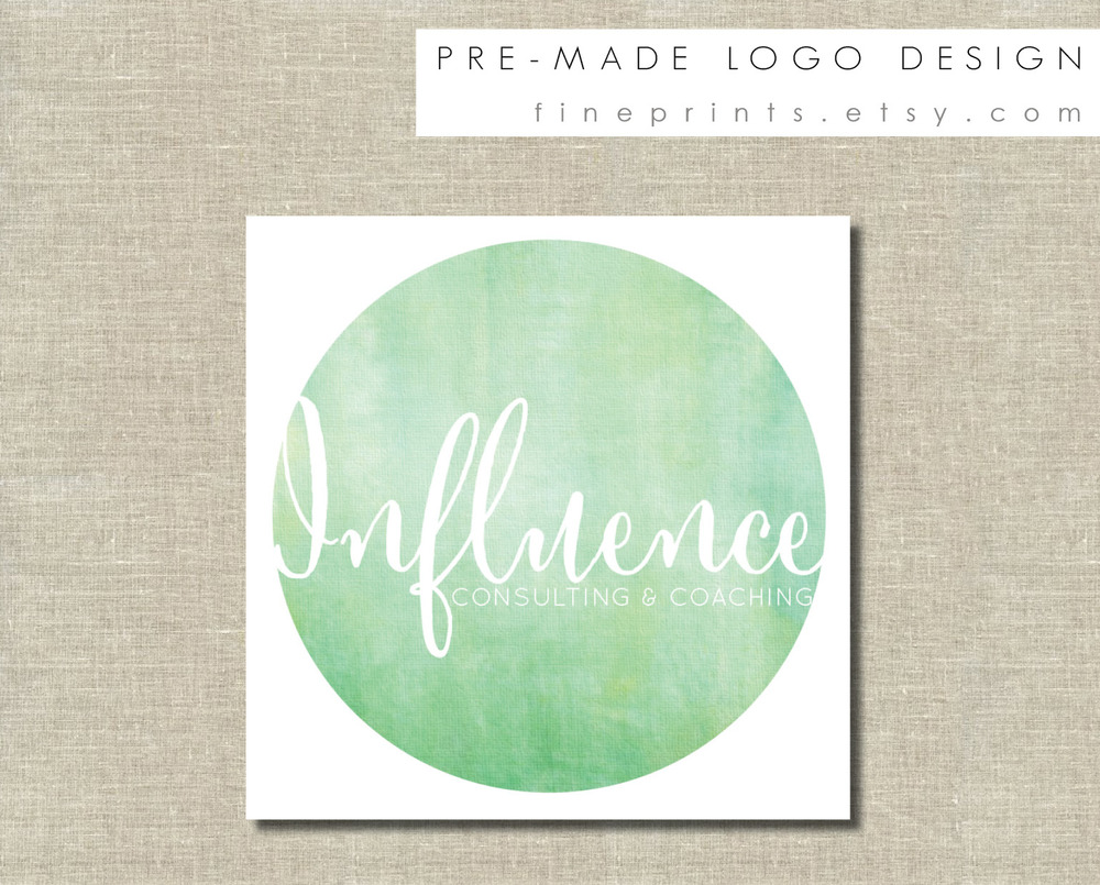 influence premade logo design sample for etsy.jpg