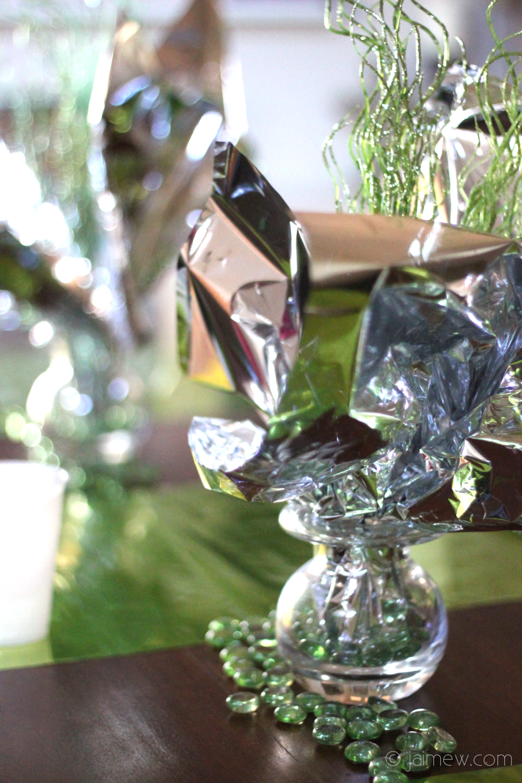 origami yoda birthday party decor