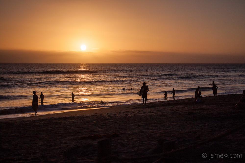 Oceanside, CA sunset
