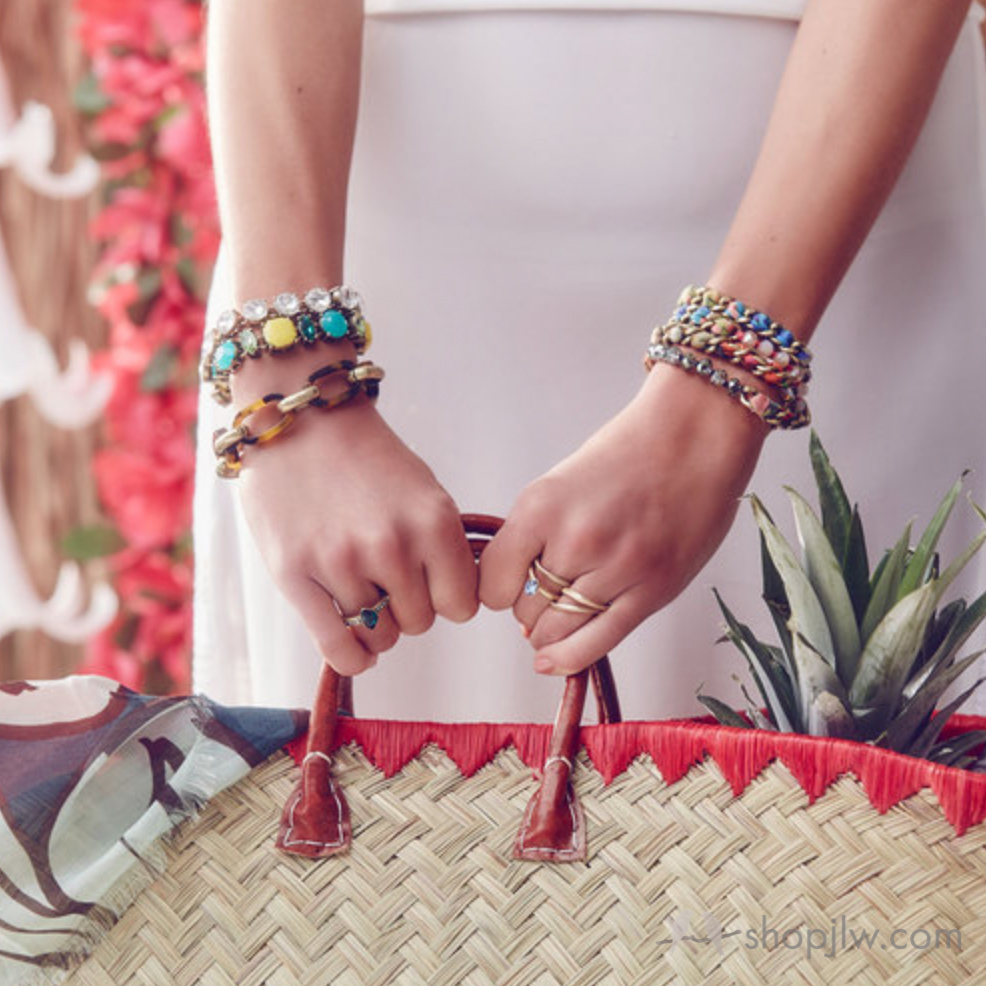 Chloe+Isabel limited edition multi wrap bracelets   Chloe+Isabel jewelry sale