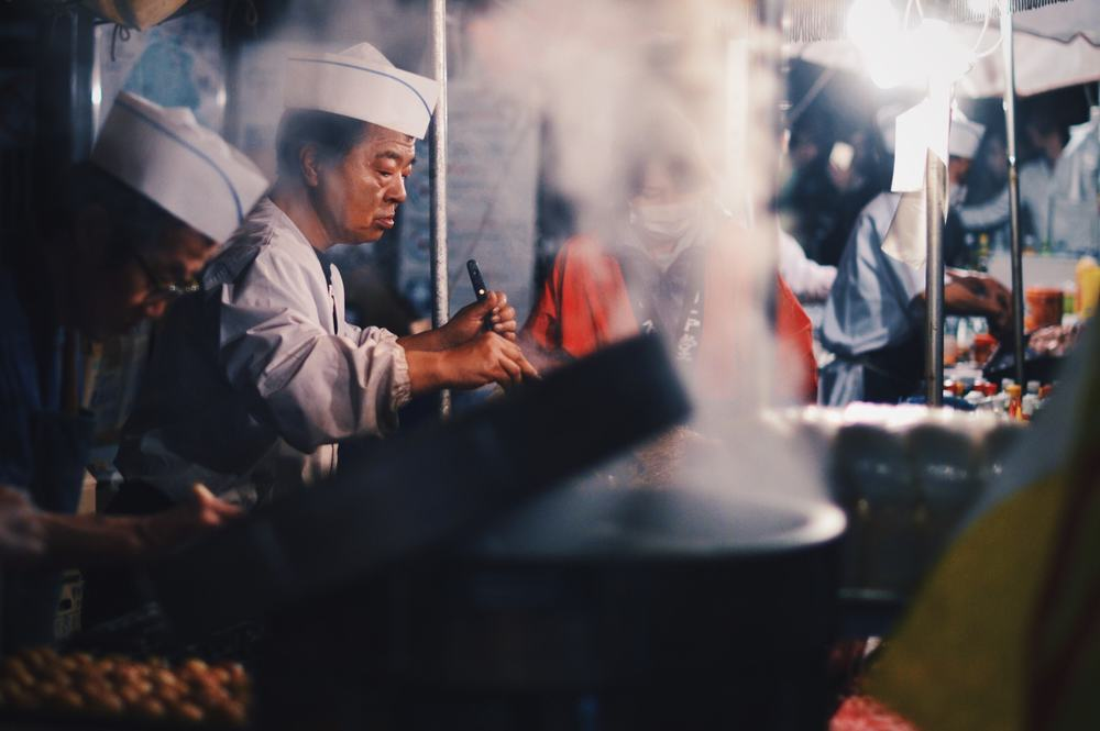 Yoyogi Street Chef // Tokyo, Japan // March 2015