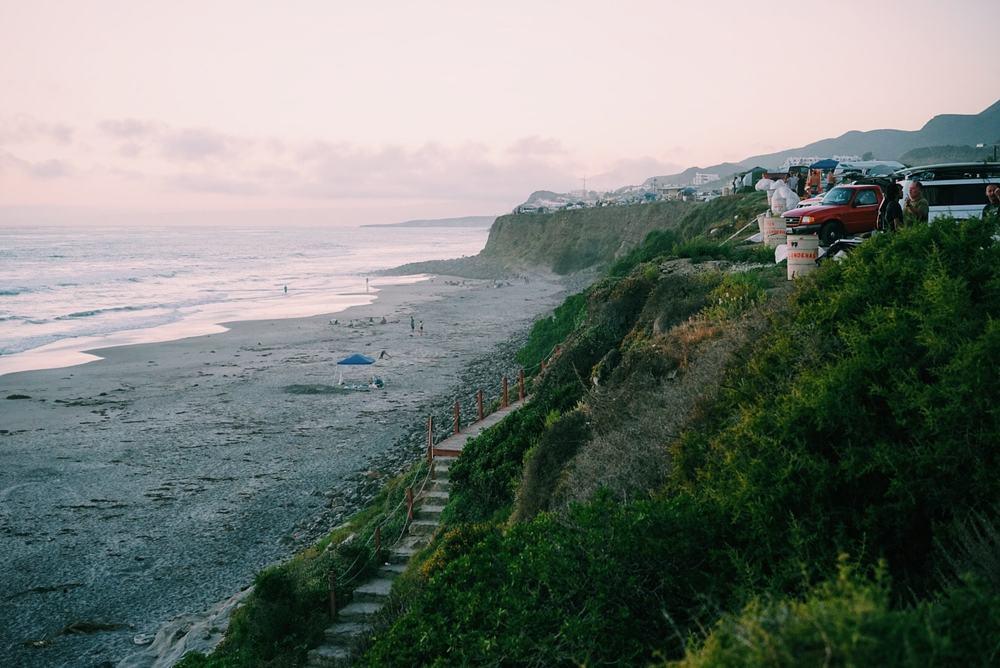 Coastline Camping // La Fonda, Mexico // August 2015