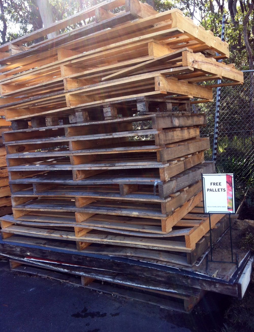 Free wood.