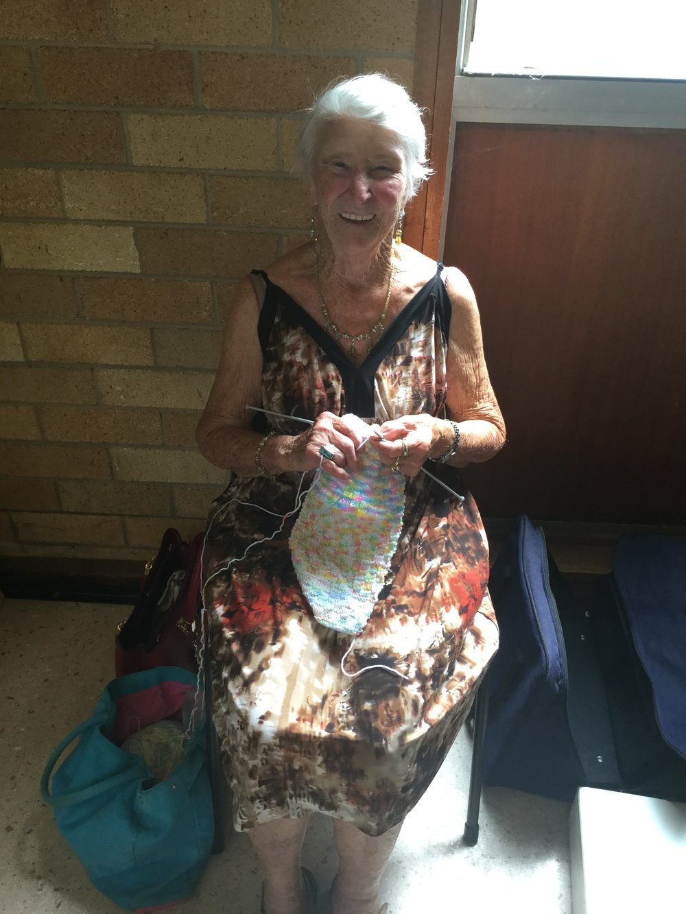 Our very own Knitting Nanna