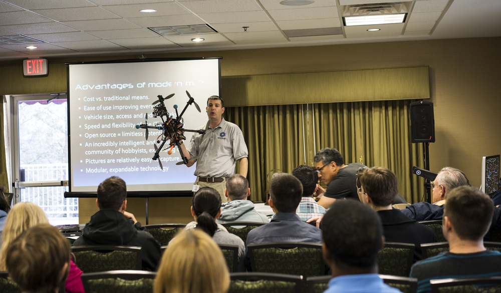 Training about the uses and lessons of multicopters at the DC Shootoff 2014.  (link takes you to speech)