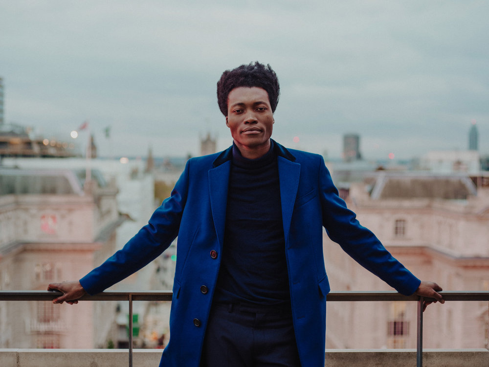 benjamin clementine   for burberry accoustic