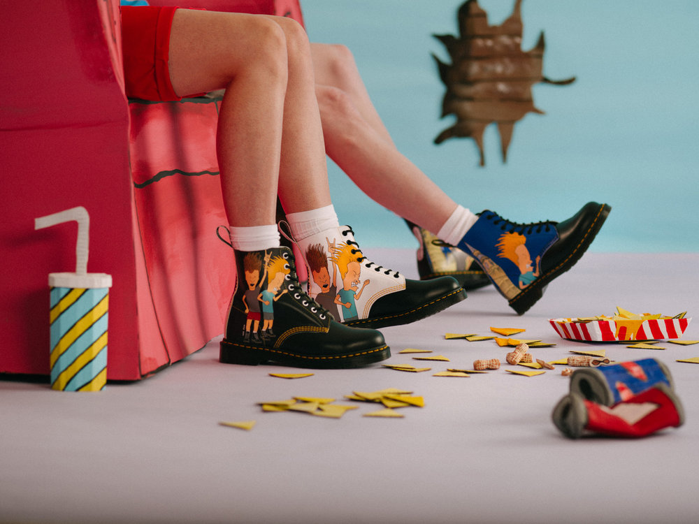 Dr Martens x Beavis and Butt-head Campaign   For Nickelodian / Dr Martens