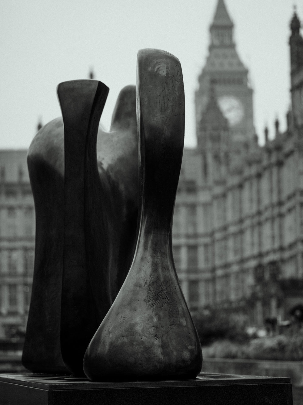London's Henry Moore Statues   For Burberry