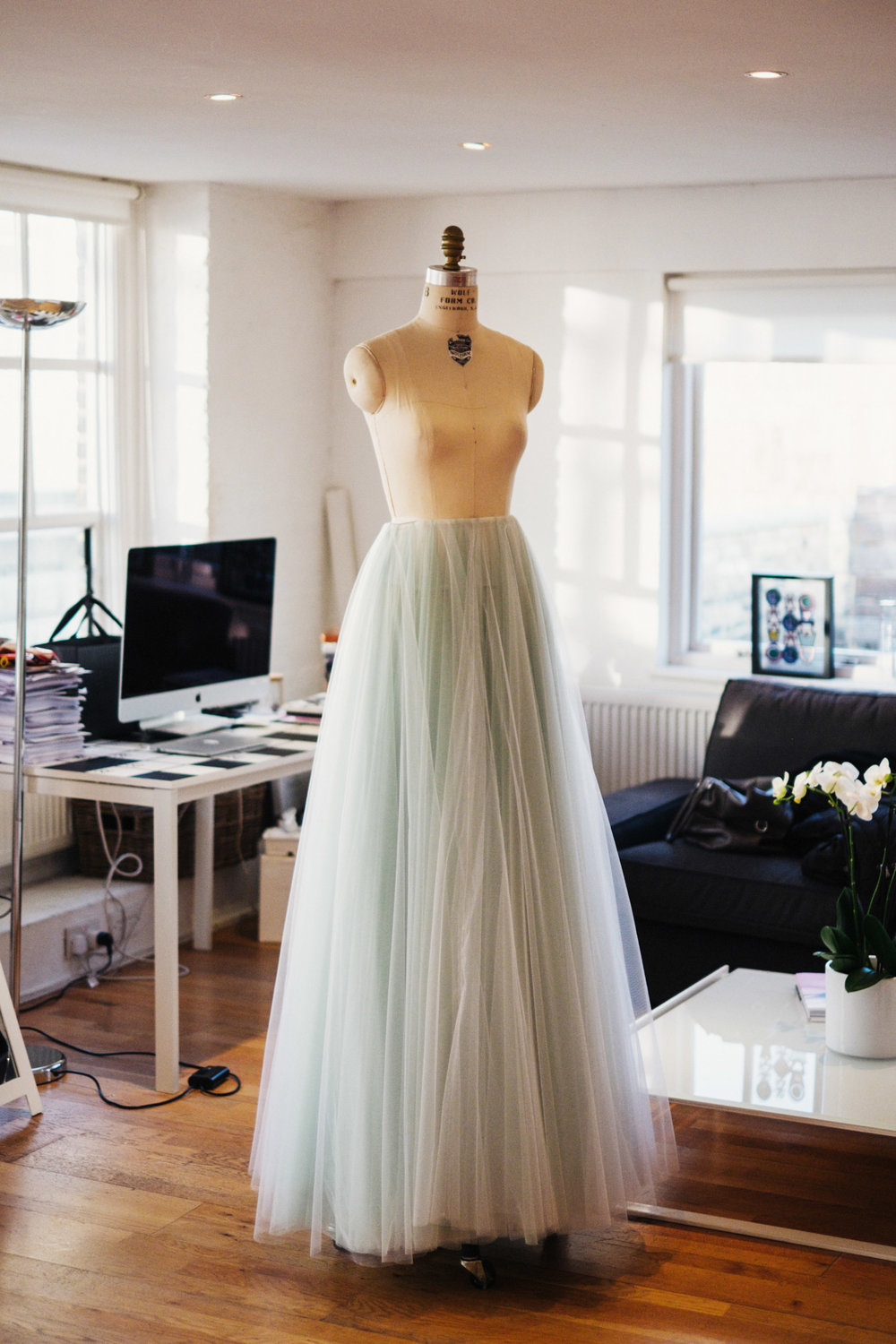 The Making of Mary Katrantzou's Elaborate Tulle Skirts   for T: The New York Times Style Magazine