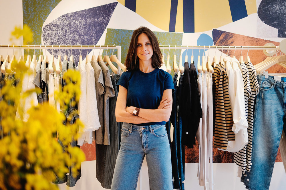 chloe lonsdale, MiH Jeans   for T: The New York Times Style Magazine