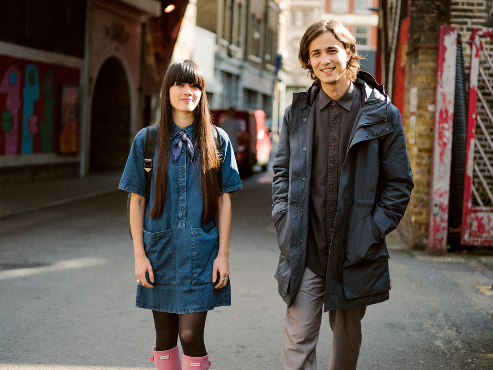 Hunter Streetstyle Campaign   for Hunter Boots