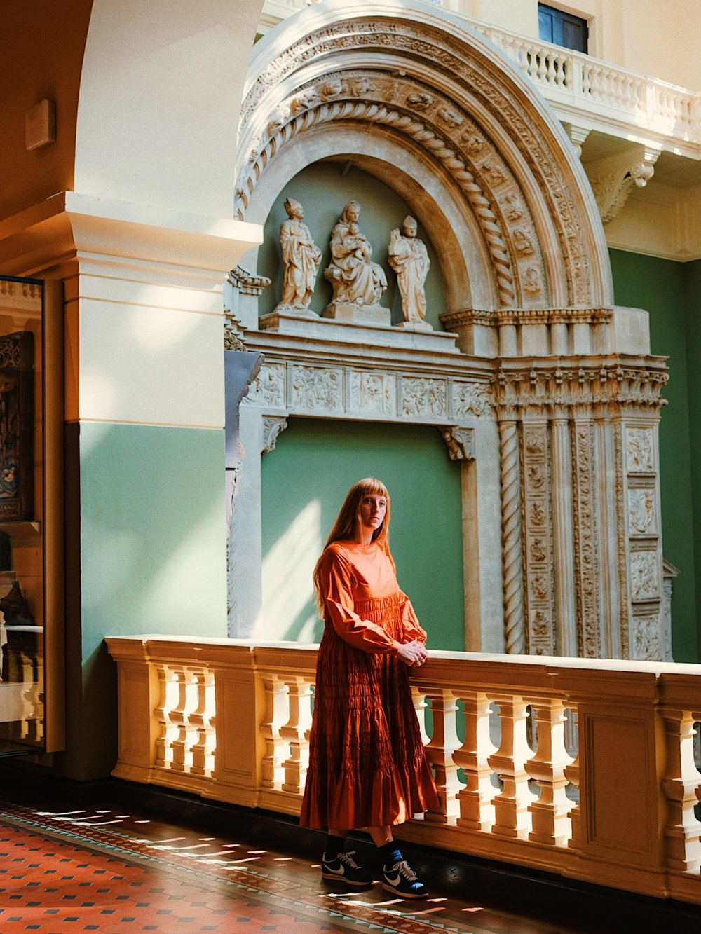 MOLLY GODDARD AT THE V&A   FOR T: The New York Times Style Magazine
