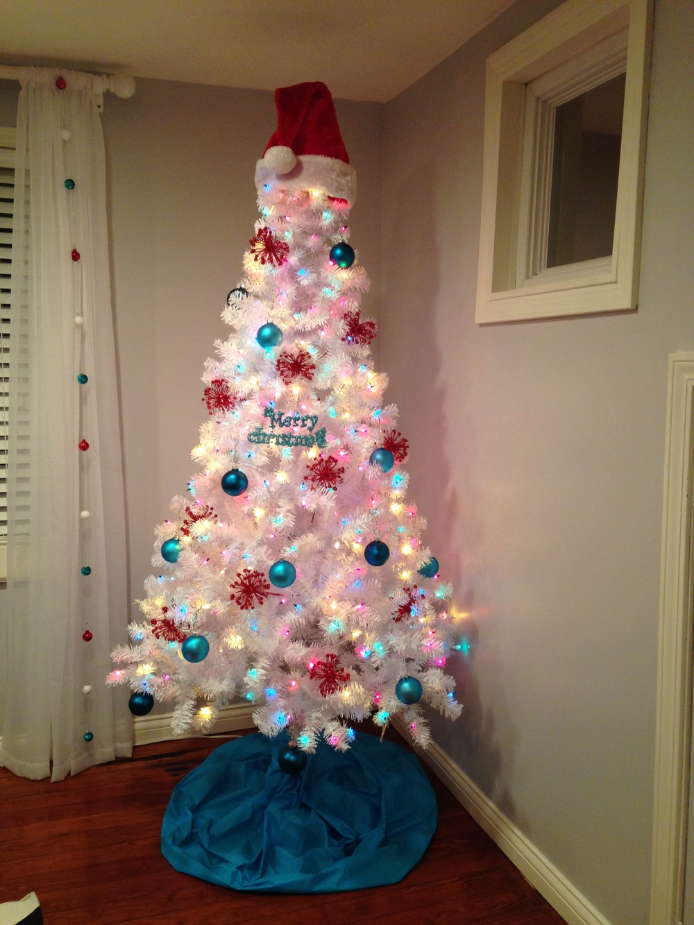 What a beautiful tree at A Sewing Loft!