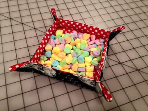 Valentine candy bowl