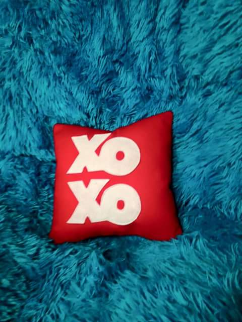 Hugs and Kisses Pillow
