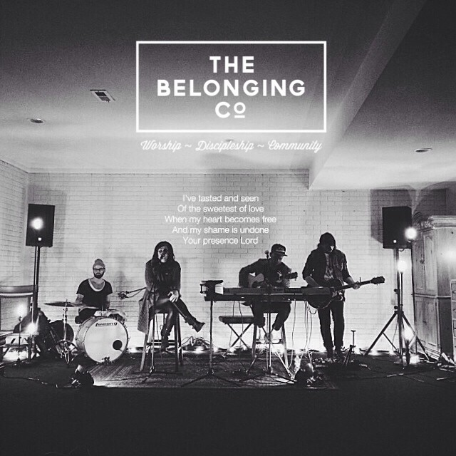 Such a powerful time of worship tonight at The Belonging!