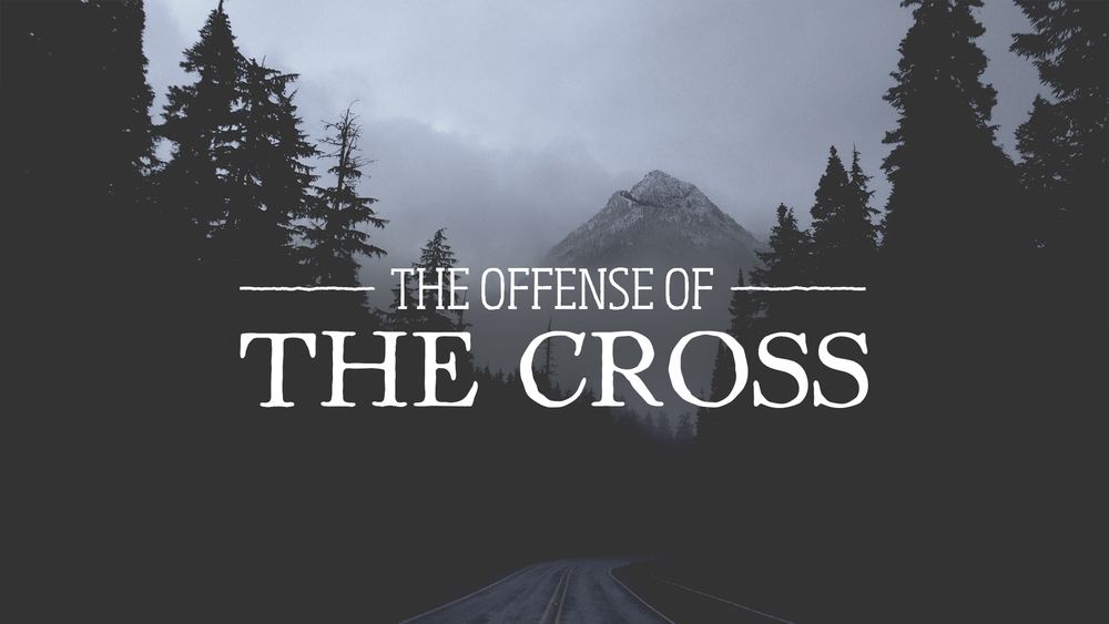 "Sunday 27th March 2016 Alex Seeley ""The Offense Of The Cross"""
