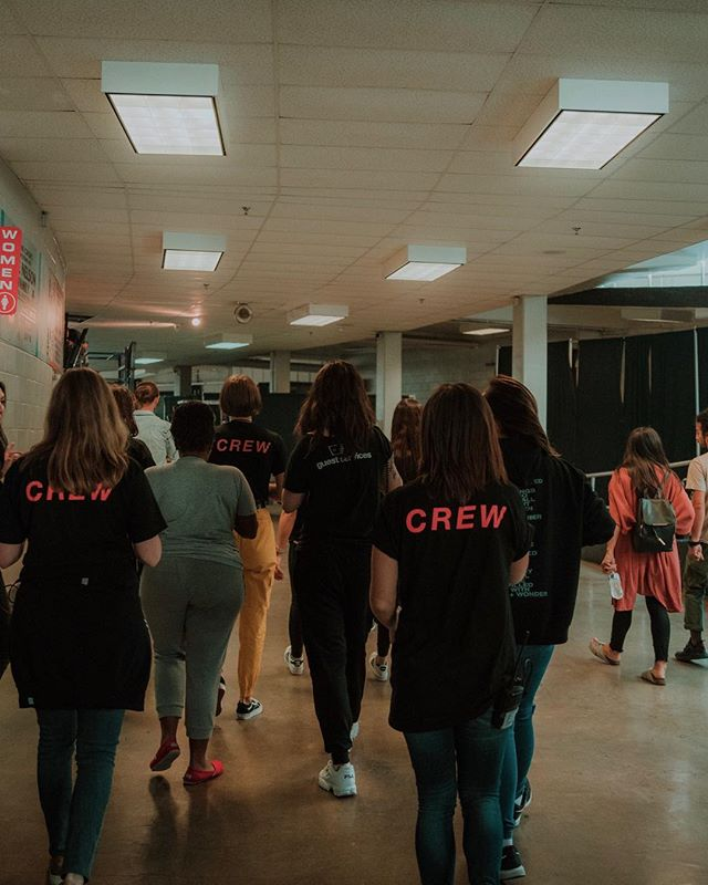 OUR TEAM IS HERE AND GETTING READY! + Registration opens at 4 PM! Come hang out, meet some people and check out our new merch while you wait for curtains open at 6 PM! + CAN'T WAIT TO SEE YOU SOON! #tbcoconference #thebelongingco
