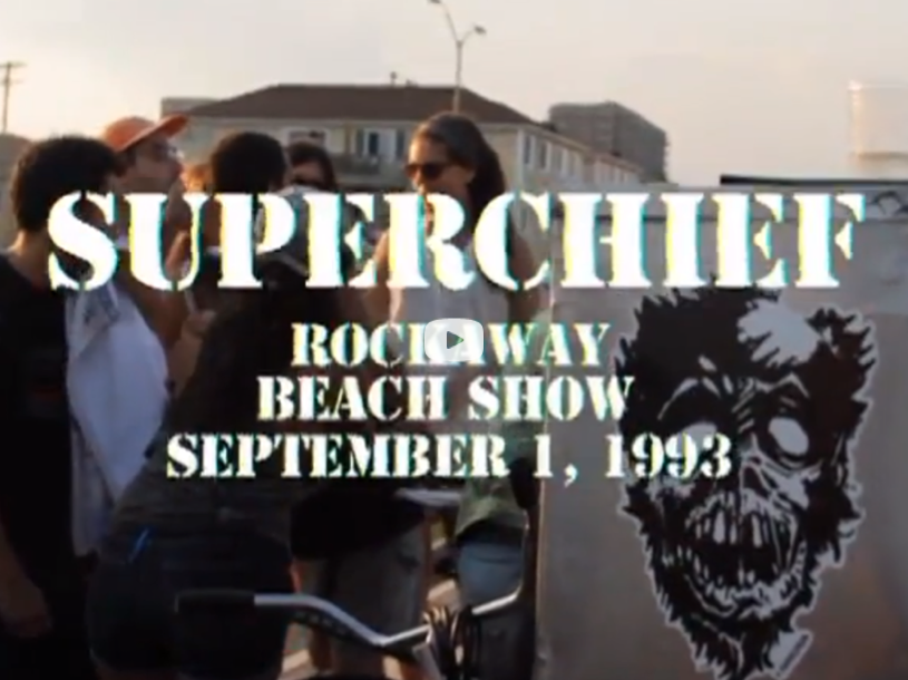 SuperChief & Santa Salsa Rockaway HXC Show.  Watch Video